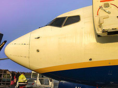 Ryanair, Boeing, London Stansted, Aircraft, 737-800