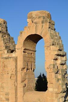 El Jem, Amphitheatre, Tunisia, Architecture, Monument