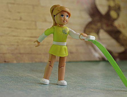 Rhythmic Gymnastics, Gymnastics, Athlete, Toy, Lego