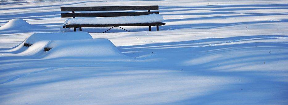 Winter, Snow, Bank, Snowed In, Wintry, Snowy, Snowfall