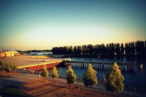 River, Weser, Bremen, Travel
