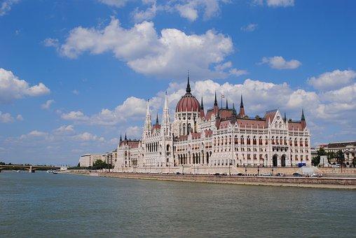 Hungary, Budapest, Danube, Parliament, River