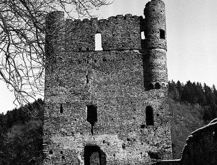 Masters Live, Ruin, Burgruine, Middle Ages, Masonry