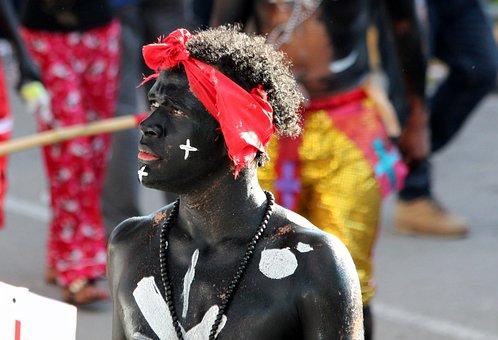 Guy, Man, Black Guy, Carnival, Holiday, Masquerade