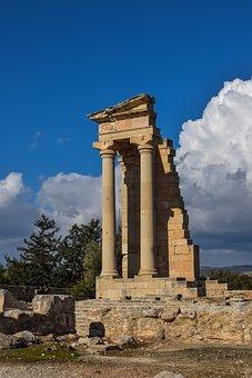 Cyprus, Apollo Hylates, Sanctuary, Temple, Ancient