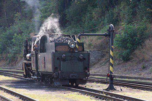 Steam Locomotive, Polish Px48, Czech Republic, Jhmd