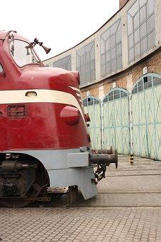 Diesel Locomotive, M61, Budapest, Railway Museum