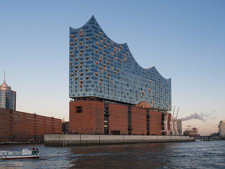 Hamburg, Germany, Harbour City, Elbe Philharmonic Hall