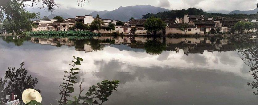 Hong Cun, Village, China, Ancient, Huangshan, Chinese