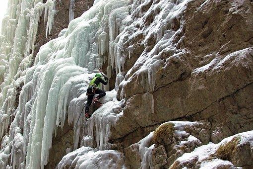Serrai Di Sottoguda, Dolomites, Ice Falls, Marmolada