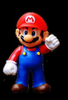 Mario, Fig, Play, Nintendo, Super, Retro, Classic
