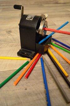 Spitzer, Pencil Sharpener, Antique, Sharpener, Old