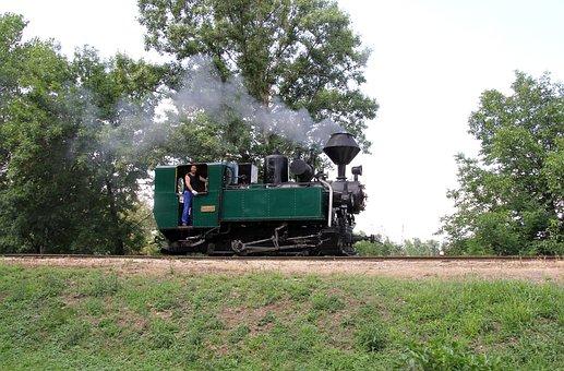 Steam Locomotive, Andras, Railroad Museum Nagycenk