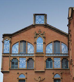 Modernism, Reus, Art Noveau, Architecture, Ceramic