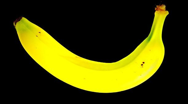 Banana, Tropical Fruit, Fruit, Yellow Cup, Frisch, Ripe