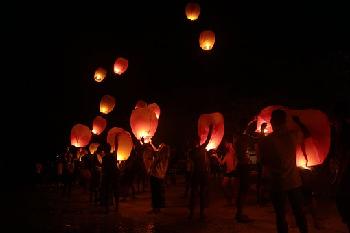 Sky Lantern, Lantern, The Nomad Nation, Oceansation