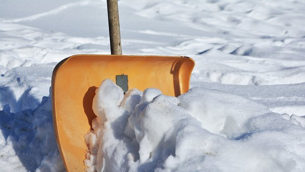 Snow Shovel, Winter Service, Winter, Snow, Room Service