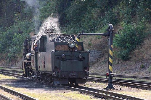 Steam Locomotive, Polish Px48, Czech Republic, Jhmd