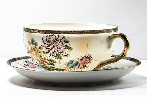 Cup, Cup Of Tea, Tea, China, Porcelain, Drink