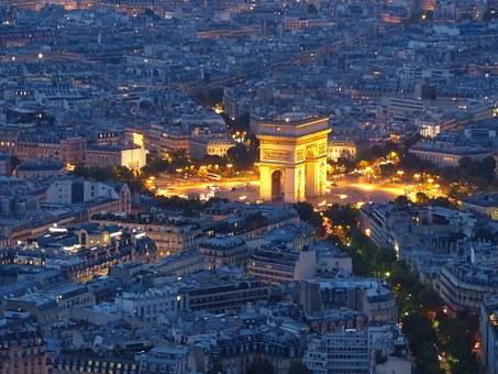 Arc De Triomphe, Paris, France, Cosmopolitan City