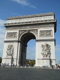 Arc De Triomphe, Paris, Places Of Interest