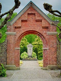 Archway, Klinkertor, Bricks, Ziegeltor, Bricked