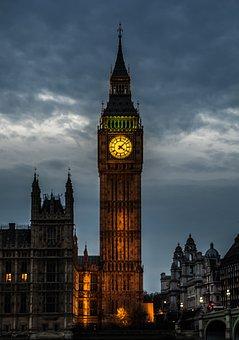 London, Ben, Big, Architecture, Britain, British, City