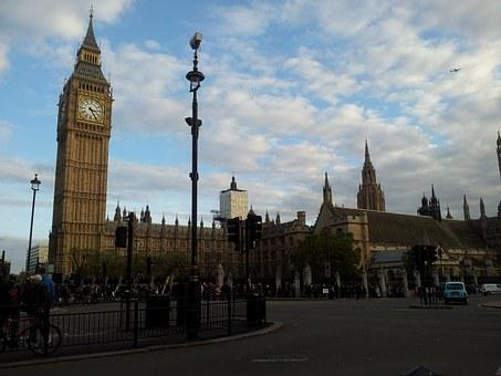 Big Ben, England, Parliament, Uk, Landmark