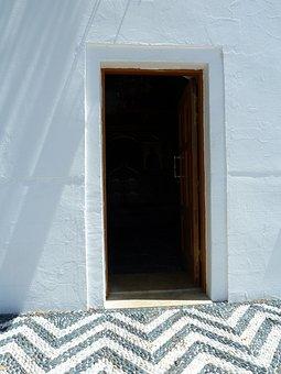 Input, Dark, Front Door, Home, White, Black