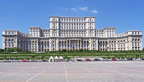 Bucharest, Parliament The Palace, Bombastic