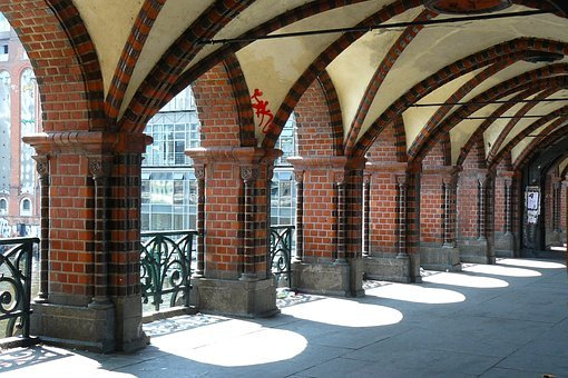 Bridge, Architecture, Arches, Arcades, Building