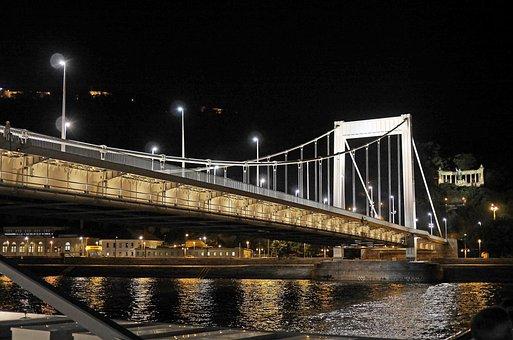 Budapest At Night, Elisabeth Bridge, Gellert Monument