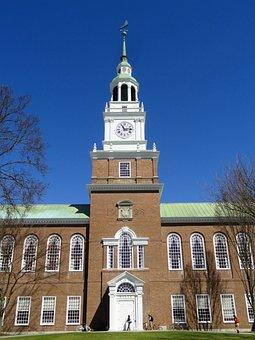 Baker, Memorial, Library, Dartmouth, College, Building