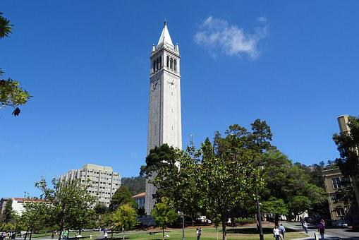 Campanile, Sather Tower, University, Building, Campus