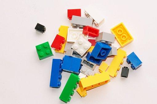 Toys, Bricks, Game, Child, Colorful, Childhood