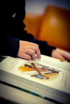 Reading, School, Education, Child, Children, Book