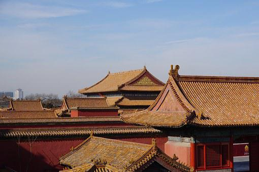 Architecture, Forbidden City, China, Asia, Beijing