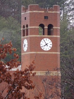 University, Clock Tower, Clock, Tower, Architecture