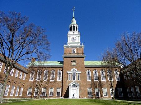 Baker, Memorial, Library, Dartmouth, College, Hanover