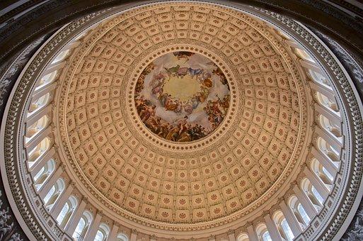 Capitol, Dome, Government, Architecture, Congress