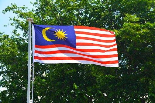 Malaysian Flag, Flag, Malaysia, Country, Nation, State