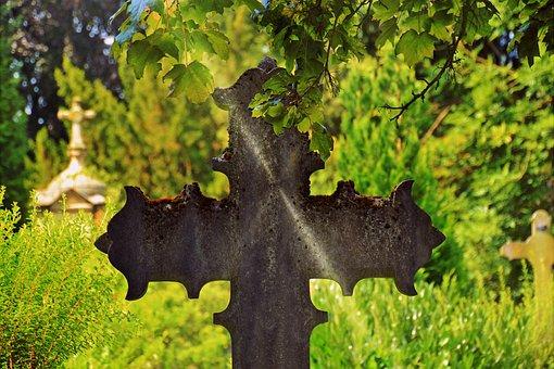 Cross, Metal Cross, Cemetery, Religion, Symbol, Faith