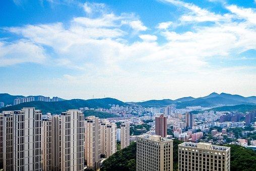 Dalian, China, A Bird's Eye View, China Cities