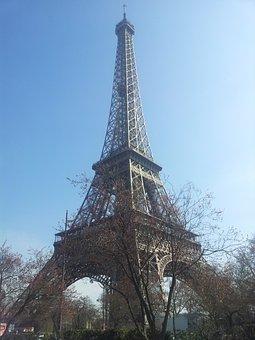 Eiffel Tower, Paris, France, Landmark