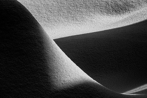 Light And Shadow, Fence, Zen, Light, Shadow, Snow