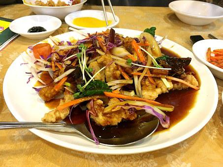 Sweet And Sour Pork, Food, Meat, Fry, Pig Meat