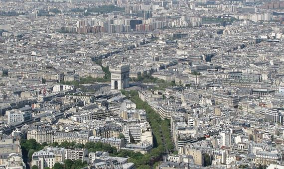 Paris, Arc De Triomphe, France, Cosmopolitan City