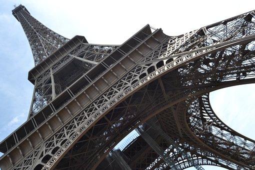 Eiffel Tower, Paris, France, Places Of Interest, Tower