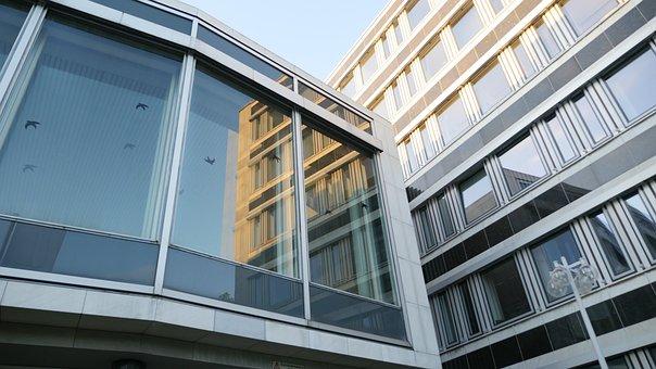 Architecture, Glass, Facade, Building, Bonn