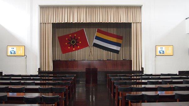 Auditorium, Conference, Republic Of China, History